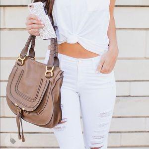 Chloe • Marcie handbag • nut brown